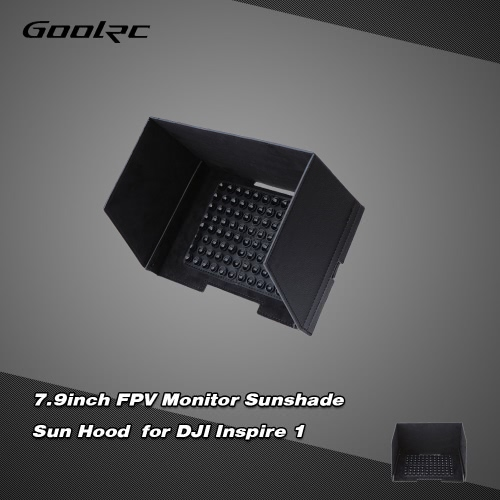 GoolRC 7.9inch FPV Monitor Black Sunshade Sun Hood for Tablet iPad for DJI Inspire 1 DJI Phantom 3 FPV