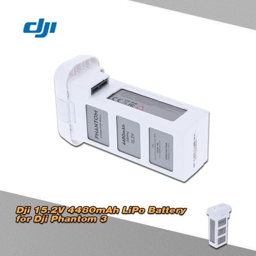 Original Dji 15.2V 4480mAh Intelligent Flight LiPo Battery for Dji Phantom 3 Professional and Advanced Version