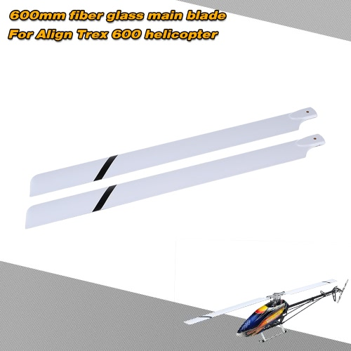 Fiber Glass 600mm Main Blades for  Align Trex 600 RC Helicopter