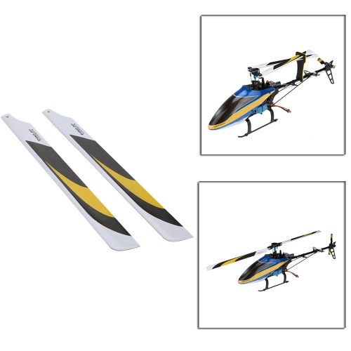 2 * Paar Carbon Fiber 325mm Hauptklingen für Ausrichten Trex Electric 450 Hubschrauber