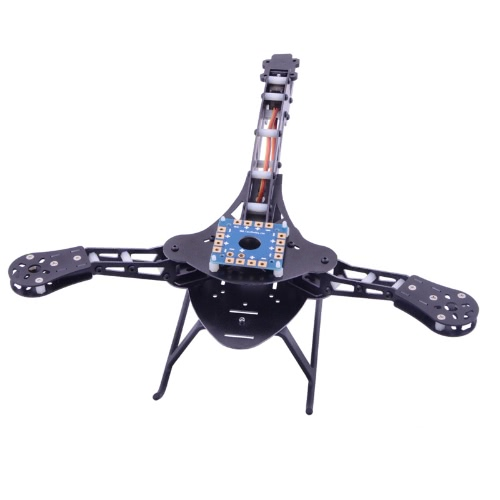 HJ-Y3 Glass Fiber Tricopter/Three-axis Multicopter Frame