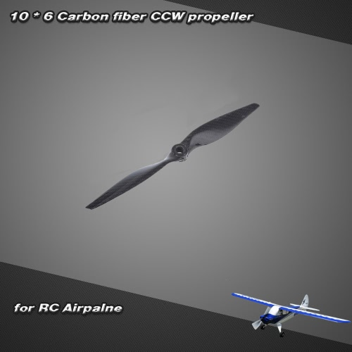 10 * 6 Carbon Fiber CCW Propeller for  RC Airplane