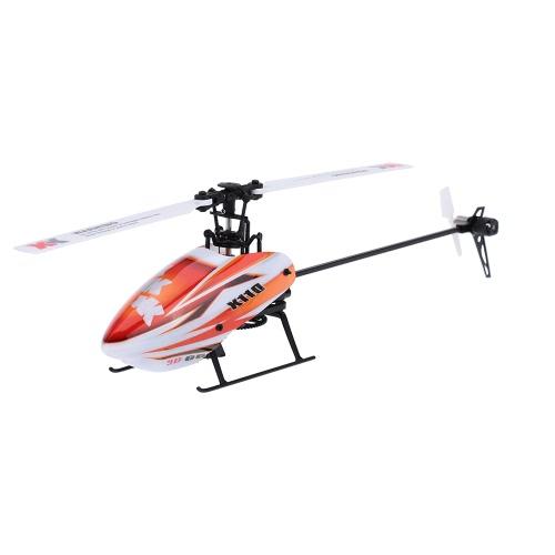 XK Blast K110-B 6CH 3D Sistema 6G Elicottero a motore senza spazzole BNF RC