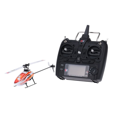 XK Blast K110 6CH Système 3D 6G Brushless Motor RTF RC Helicopter