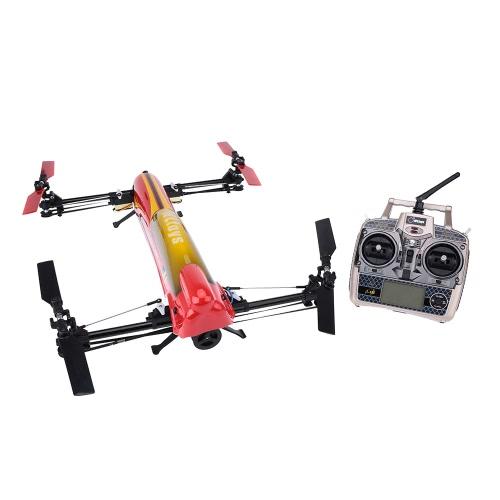 WLtoys V383 original echada colectiva 500 3D nivel 6 eje giro RTF sin cepillo del Motor RC Quadcopter