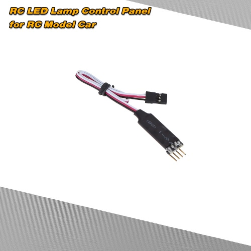 AX-004 RC LED Lamp Control Panel for 1/10 1/8 RC HSP Traxxas TAMIYA CC01 4WD Axial SCX10 Model Car