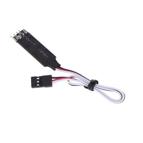 AX-004 RC LED Panel de control de la lámpara para 1/10 1/8 RC HSP Traxxas TAMIYA CC01 4WD Axial SCX10 modelo de coche