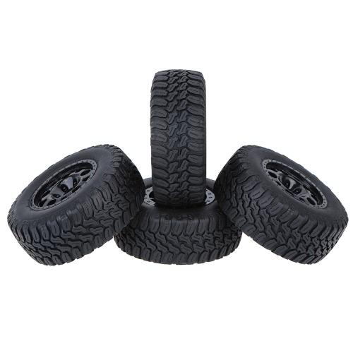 4Pcs / Set 1/10 Neumáticos para neumáticos de camión de corto curso para Traxxas HSP Tamiya HPI Kyosho RC Modelo de coche