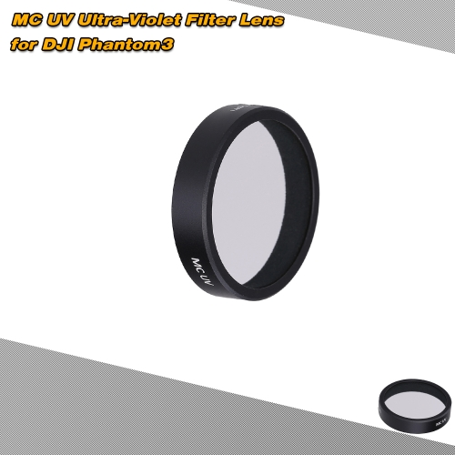 MC UV Ultra-Violet Filter Lens for  DJI Phantom3 Phantom 4 Quadcopter