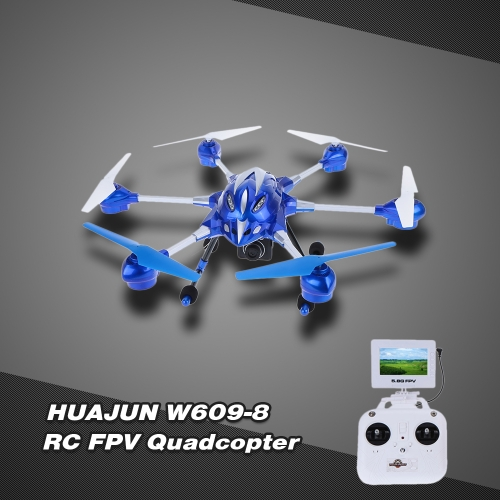 HUAJUN W609-8 4.5CH Super Alloy Six Axis Gyro Hexacopter RTF RC FPV Quadcopter Drone With 2.0MP HD Camera