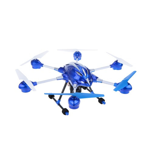 HUAJUN W609-8 4.5CH Super Alloy Six Axis Gyro Hexacopter RTF RC FPV Quadcopter Drone с камерой 2.0MP HD