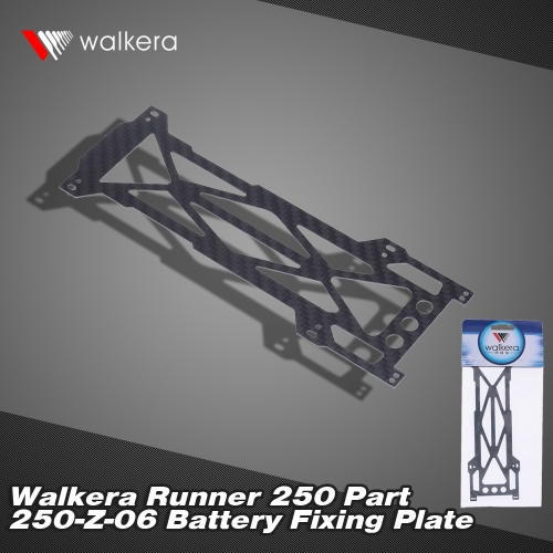 Original Walkera Runner 250 FPV Quadcopter Parts Runner 250-Z-06 Battery Fixed Plate