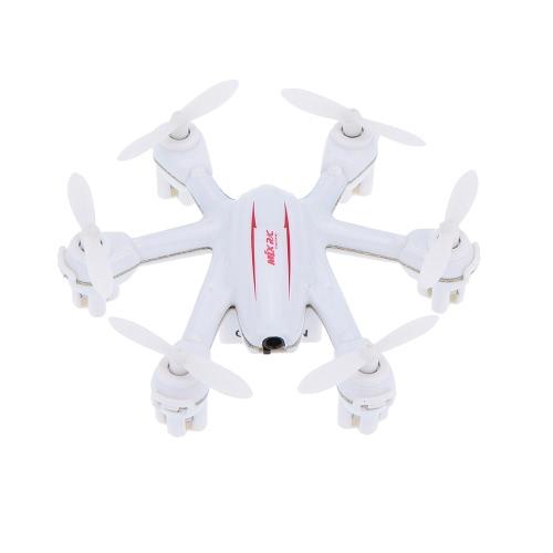 Original MJX X901 2.4G 4 canaux 6-Axes Gyro Nano Hexacopter Drone avec bascule de vitesse Commutateur / Flips 3D et Rolls RTF RC Quadcopter