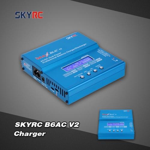 Original SKYRC B6AC V2 50W LiPo LiFe LiIon NiMH NiCd Battery Charger Discharger