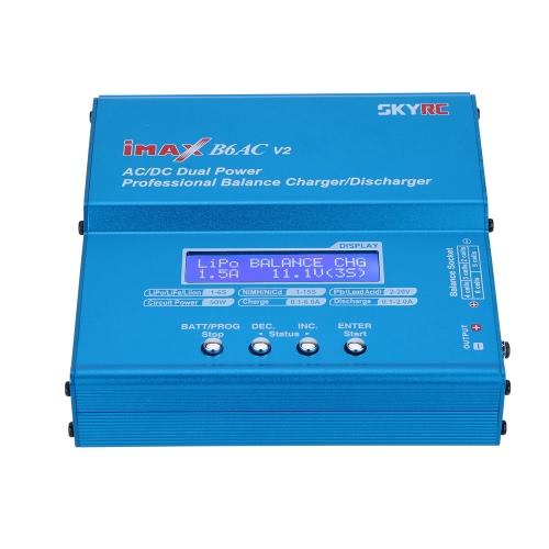 元 SKYRC B6AC V2 50 w リポ寿命リチウム イオン ・ ニッケル水素・ ニッカド バッテリー充電器充放電