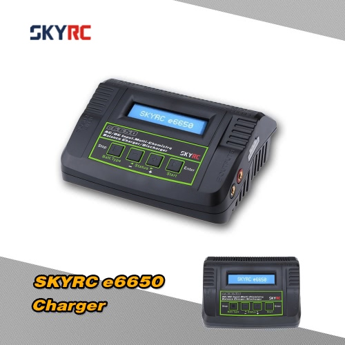 Exiron SKYRC e6650 50W LiPo Life LiIon NiMH NiCd Battery Charger Discharger for RC Quadcopter Battery