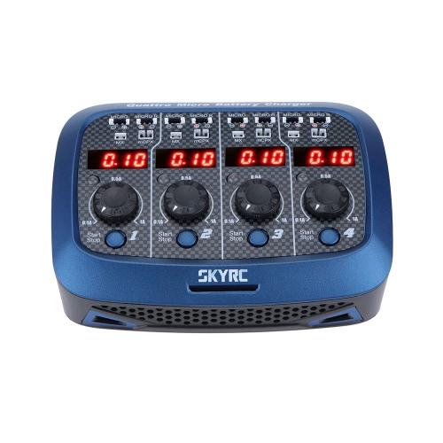 Original SKYRC Quattro Micro 4 * 4W 4 * 1S Chargeur de batterie Lipo pour RC Helicopter Quadcopter Battery