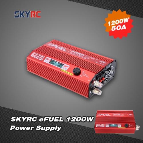 Original SKYRC eFUEL 1200W 50A AC 100-240V to DC 15-30V Power Supply for RC Quadcopter Battery Charger
