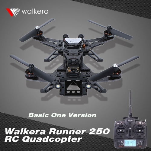 Original Walkera Runner 250 RC Quadcopter Basic One Version with DEVO 7 Transmitter