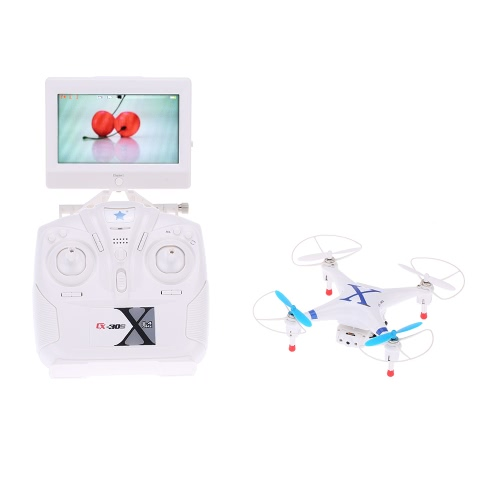 Cheerson CX-30S 4CH 2.4GHz 6-Axis Gyro RTF 5.8G Real-time FPV RC Quadcopter with LCD Display/Camera