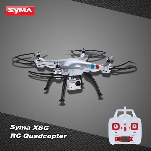 Syma X8G 2.4G 6 Axis Gyro 4CH RC Quadcopter 8.0MP HD Camera