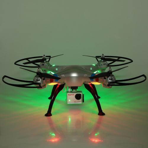 Cámara de Syma X8G 2.4G 6 Axis Gyro 4CH RC Quadcopter 8.0 megapíxeles de alta definición