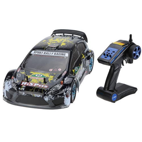 Original HSP 94177 Nitro Powered Off-Road Sport Rally Corsa 1 / 10th Scala 4WD RC Car KUTIGER corpo con 2.4Ghz 2CH Trasmettitore versione RTR