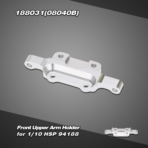 188031(08040B) Upgrade Part Aluminum Alloy Front Upper Arm Holder for 1/10 HSP 4WD 94188 Off Road Monster Truck