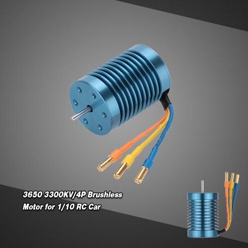 CYW-3650 3300KV/4P Brushless Motor for 1/10 RC Car RM3836