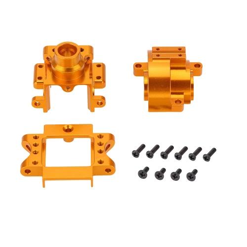 122275 Actualizar parte Caja de engranajes de aleación de aluminio para 1/10 HSP 94122 94188 Nitro Powered Off-road Car