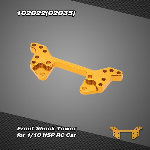 102022(02035) Upgrade Part Aluminum Alloy Front Shock Tower for 1/10 HSP RC Car 4WD Off Road