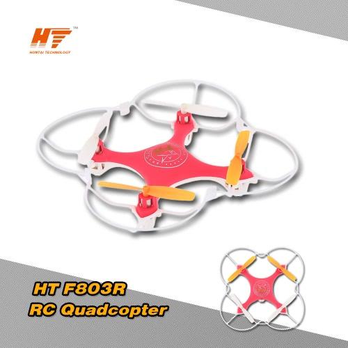HT F803R 2.4G 4CH 6軸ジャイロ  3Dフリップ反転  RTF RCクアッド  コプタードローン