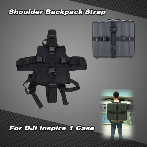 Travelling Shoulder Backpack Strap Belt Adapter For DJI Inspire 1 Quadcopter Case