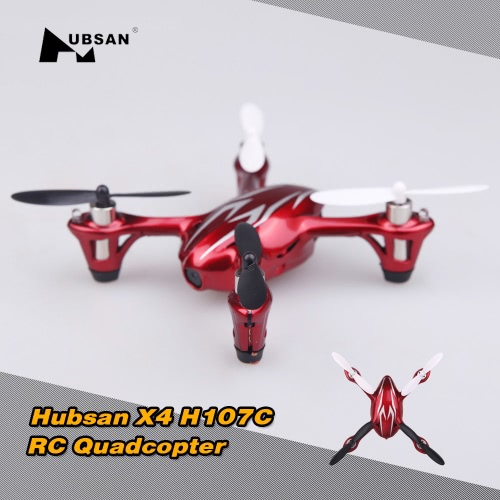 Mode 1 Original Hubsan X4 H107C 2.4G 4CH RC RTF 2MP HD Camera Quadcopter Toys with Transmitter