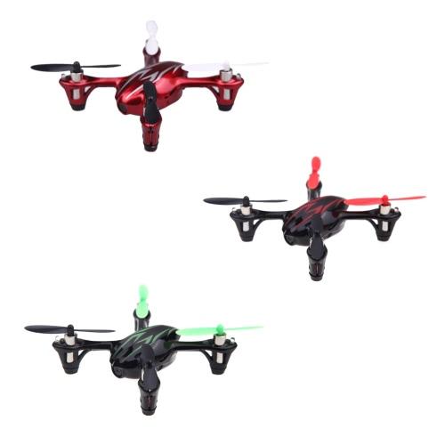 Mode 1 Original Hubsan X4 H107C 2.4G 4CH RC RTF 2MP HD Camera Quadcopter Brinquedos com Transmissor