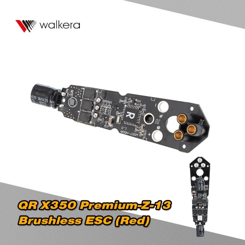Walkera QR X350プレミアムクアッドコプター用 オリジナル  Walkera部品  QR X350プレミアム-Z-13ブラシレスESC(レッドライト)