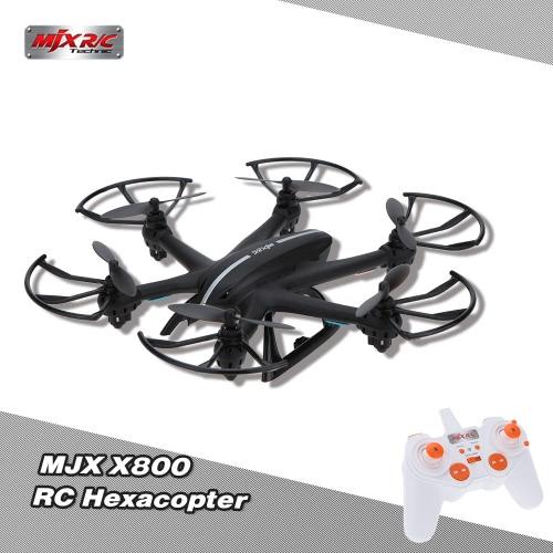 MJX X800 2.4G 6 axes Gyro One Key Capteur de gravité à rouleaux 3D RC Hexacopter