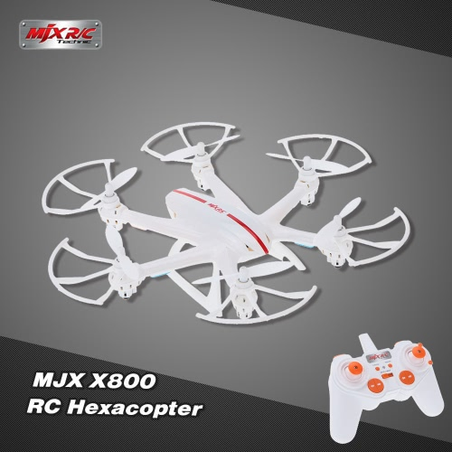 MJX X800 2.4G 6 Axis Gyro One Key 3D Roll Gravity Sensor RC Hexacopter