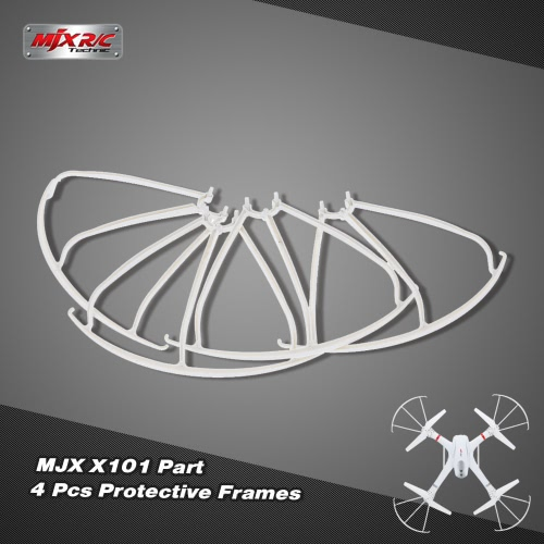 2 Pairs Original MJX X101 Part Protective Frames for MJX X101 RC Quadcopter