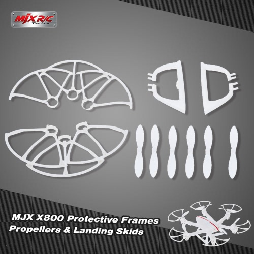 Original MJX X800 Part Landing Skids Propellers and Protective Frames for MJX X800 RC Hexacopter