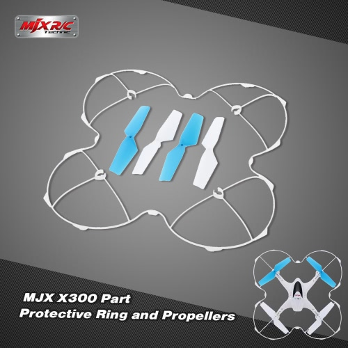 Original MJX X300 Part Protective Ring and Propellers for MJX X300 X300C RC Quadcopter