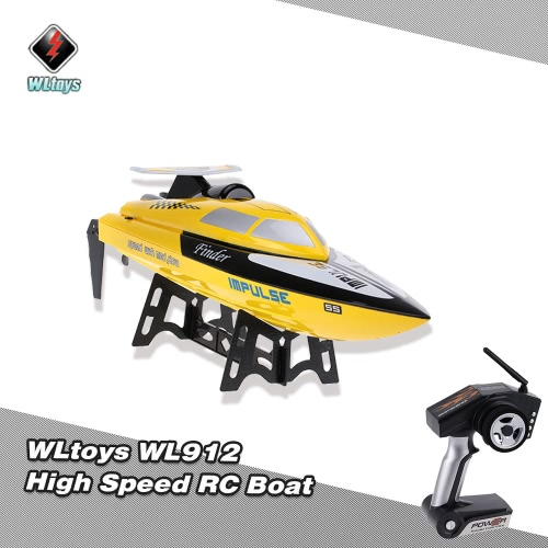 Original WLtoys WL912 2.4G Remote Control High Speed 24km/h RC Boat