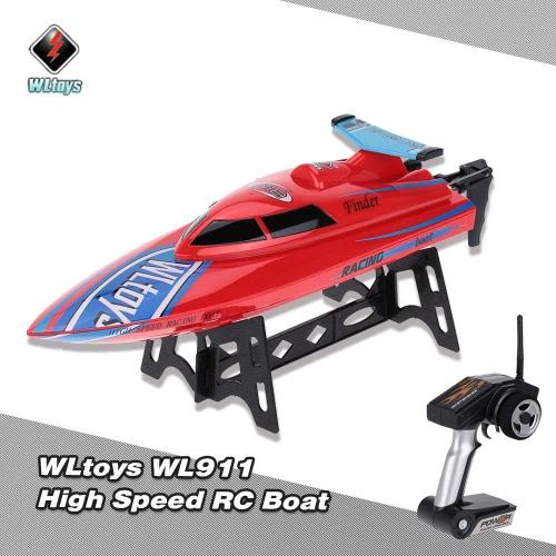 Original WLtoys WL911 2.4G Remote Control High Speed 24km/h RC Boat