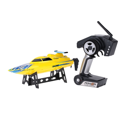 WLtoys WL911 2.4G 24km/h RC Racing Boat - Yellow