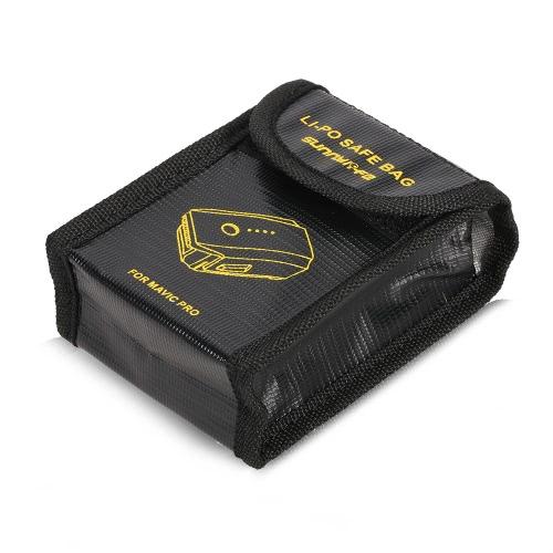 Bateria Fireproof przeciwwybuchowy Bag Storage Case Bezpieczeństwo Dla DJI Mavic Pro Drone