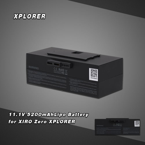 Oryginalny XPLOER 11.1V 5200mAh Inteligentne Flight Lipo Battery for XIRO Zero Xplorer FPV RC Quadcopter