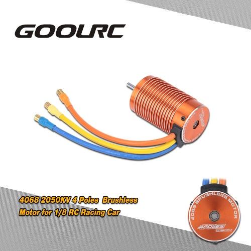 1/8 RCカー用  GoolRC 4068 2050KVセンサレスブラシレスモーター