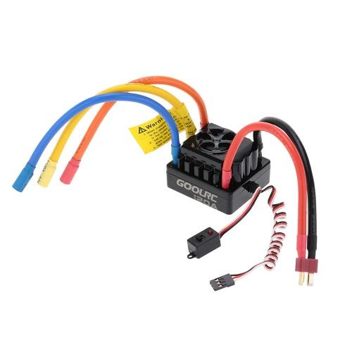 GoolRC 120A 2 ~ 6S akumulator LiPo Czujnik bezszczotkowy Elektroniczny bezszczotkowy sterownik prędkości ESC dla samochodu 1/8 RC