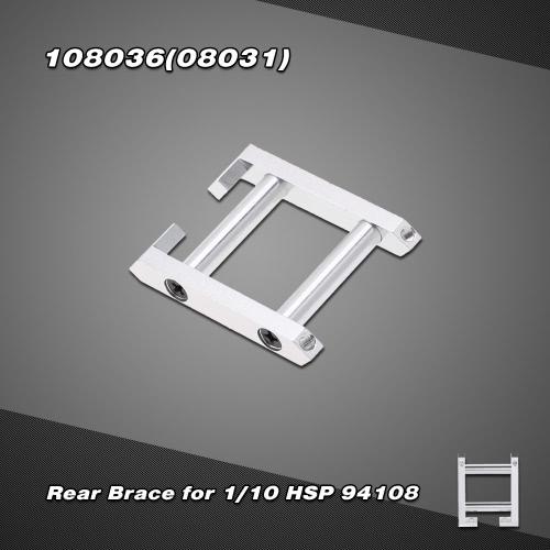 108036 (08031) Upgrade Część stopu aluminium Brace tylny do 1/10 RC Car 94108 HSP 4WD Nitro Powered terenowy Monster Truck