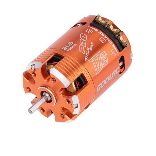 GoolRC 540 / 21.5T 1760KV Motore Senza Spazzole con Sensore per 1/10 RC Auto